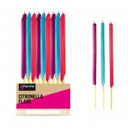 Citronella Candle Flares (24 Pack) 1