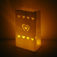 Candle Bags - Heart (3 Pack) 1