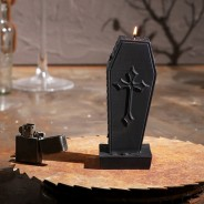 Halloween Coffin Candle 1