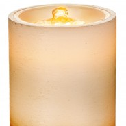 20cm LED Water Fountain Candle 7