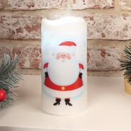 Santa LED Projector Candle 2