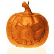Halloween Pumpkin Candle 2
