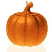 Halloween Pumpkin Candle 4