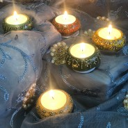 Colourful Indian Tealight Holders 3