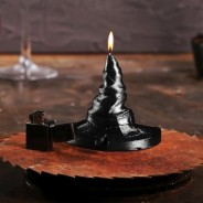 Halloween Witches Hat Candle 1