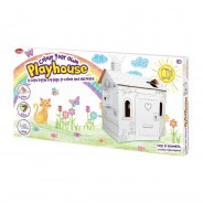 Colour Your Own Cardboard Playhouse  3