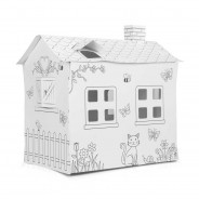 Colour Your Own Cardboard Playhouse  2