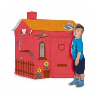 Colour Your Own Cardboard Playhouse  1