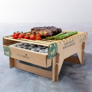 Biodegradable Bamboo Instant BBQ 2