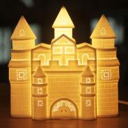3D Ceramic Lamp Castle 1