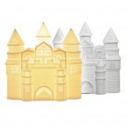 3D Ceramic Lamp Castle 2