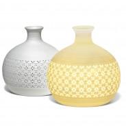 Ceramic Lamp Round Vase 2