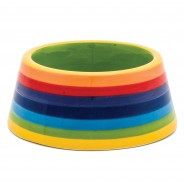 Rainbow Ceramics Pet Bowls  8 Cat bowl