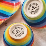 Rainbow Ceramics Pet Bowls  9