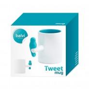 Neon Tweet Mug 4 Neon Blue