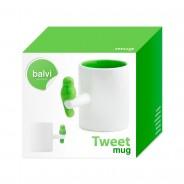 Neon Tweet Mug 7 Neon Green