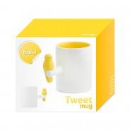 Neon Tweet Mug 10 Neon Yellow