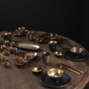 Ceylon Black and Gold Ceramics  9