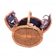 Cheltenham Barrel Picnic Basket 1