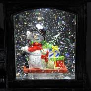 Glitter Water Spinner Christmas Train 3