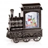 Glitter Water Spinner Christmas Train 1