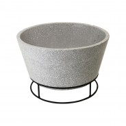 Clay Fire Bowl on Stand (FF441) 3