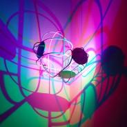 CMYK Colour Shadow Bulb 2