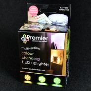 Colour Changing LED Uplighter 2