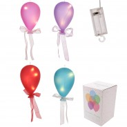 Coloured Glass Hanging Balloon Light 2 Only available in purple