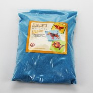 5 Pack of Coloured Sand 2 Blue