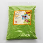 5 Pack of Coloured Sand 5 Green