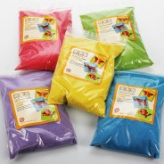 5 Pack of Coloured Sand 1