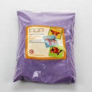 5 Pack of Coloured Sand 3 Purple