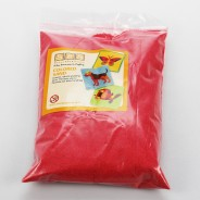 5 Pack of Coloured Sand 4 Red