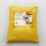 5 Pack of Coloured Sand 6 Yellow