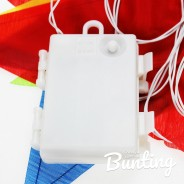 Light Up Bunting - 8 Illuminated Flags 9