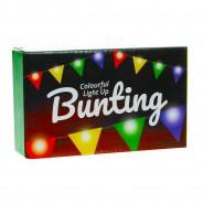 Light Up Bunting - 8 Illuminated Flags 11