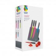 Colourworks Bright 5 Piece Magnetic Knife Set 3