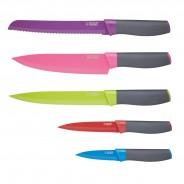 Colourworks Bright 5 Piece Magnetic Knife Set 2
