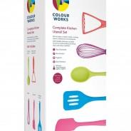Colourworks Bright 5 Piece Kitchen Utensils 7
