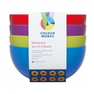 Melamine Tableware by Colourworks 2 Bowls