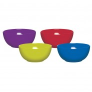 Melamine Tableware by Colourworks 3 Bowls