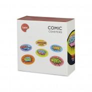 Pop Art Comic Coasters 5