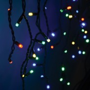 Connectable Icicle String Lights - Multi-Colour 2