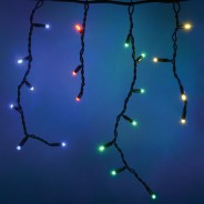 Connectable Icicle String Lights - Multi-Colour 3
