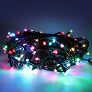 20m Connectable Heavy Duty Colour Scroll String Lights  4