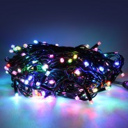 20m Connectable Heavy Duty Colour Scroll String Lights  5