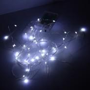 Copper Tone Wire Lights 6