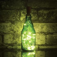 LED Bottle Fairy Lights - 20 Warm White  1 Bottle not included
