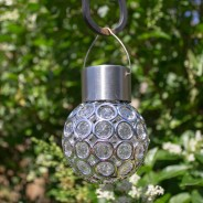 Crystal Colour Changing Solar Light 1